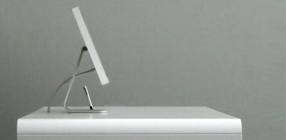 iMac idesk sideview