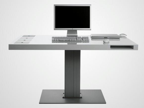 Milch-WLAN-Schreibtisch