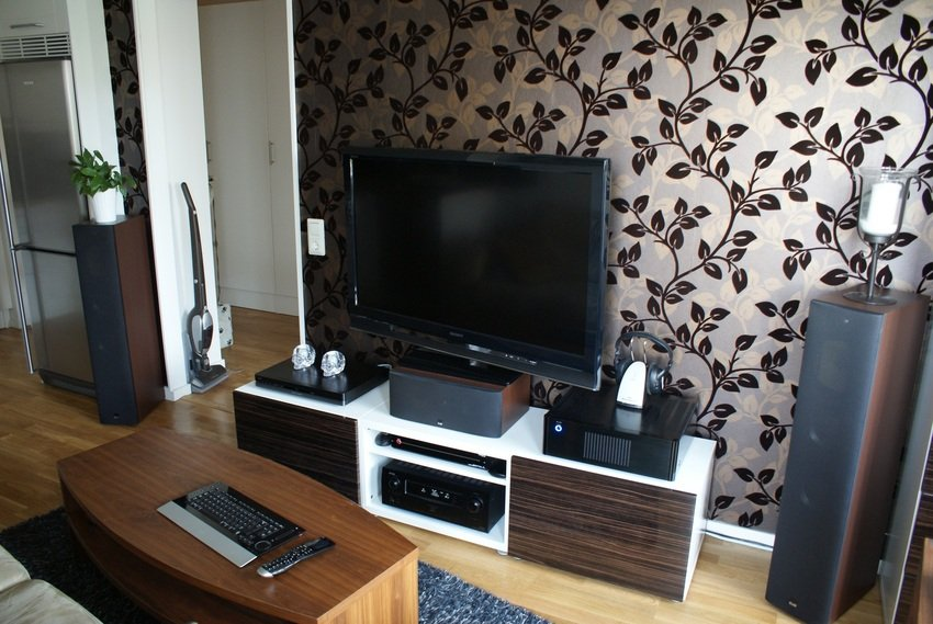 Scandinavian tv room design