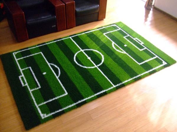 futbol fanatiklerinin ev dekorasyonu. Black Bedroom Furniture Sets. Home Design Ideas