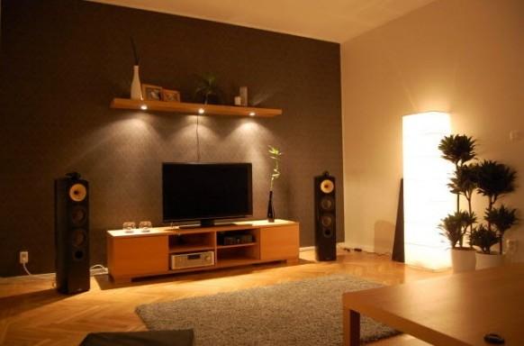 warm tech-Wohnzimmer