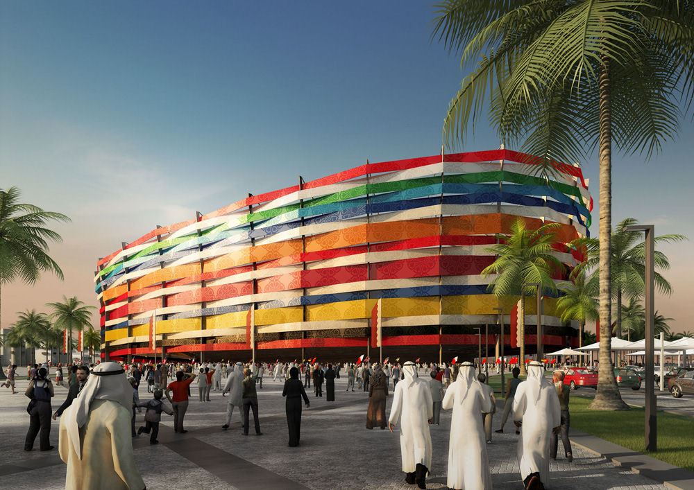 Al gharafa stadium world cup 2022 stadium 1