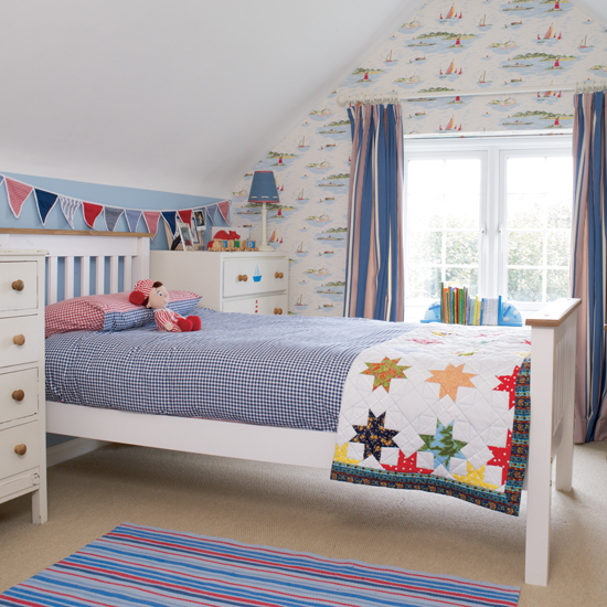 Little Boy Room Design Ideas: Kids' Room Decor: Themes And Color Schemes