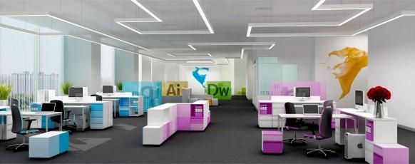 adobe office-Konzept