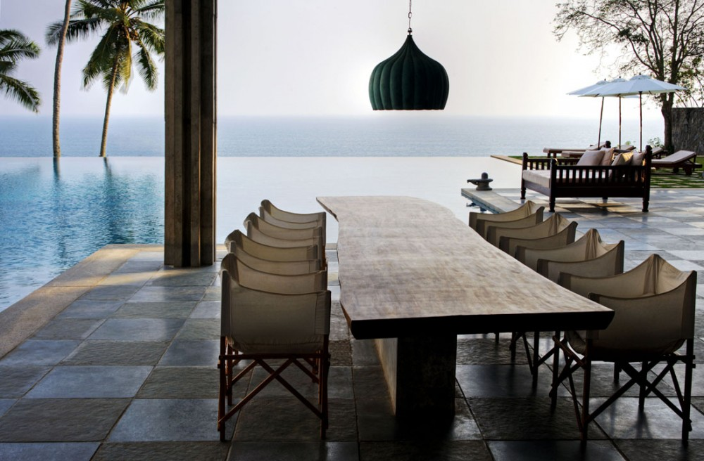 cliff house dining room | House with mesmerising ocean views, Kerala