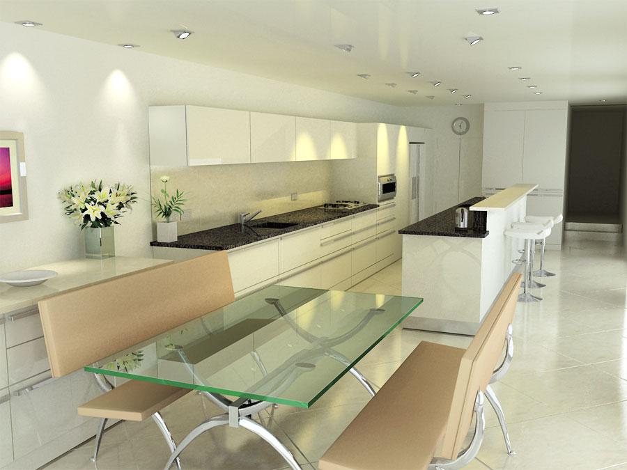 Modern Style Kitchen Designs - photo#43
