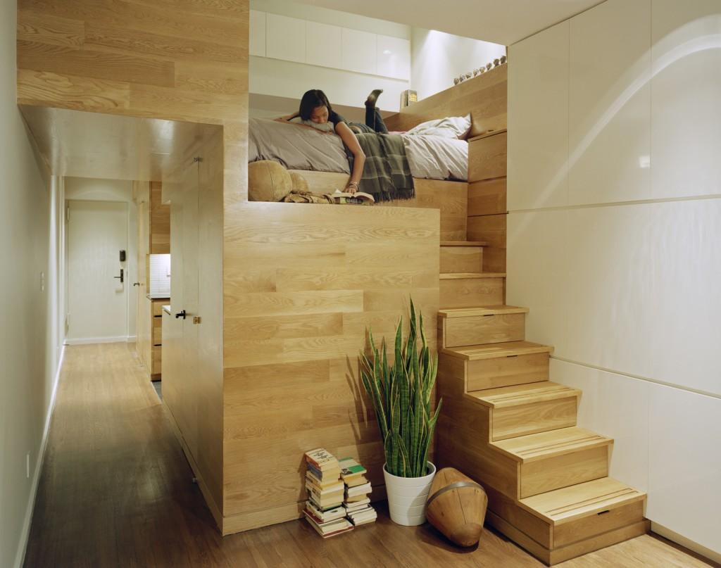 E Saving Tiny Apartment New York