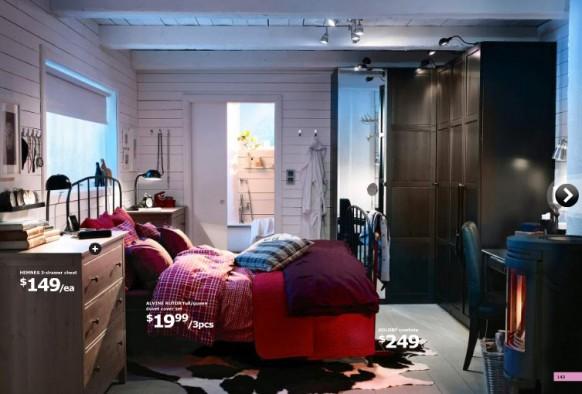 ikea-Möbel-Schlafzimmer