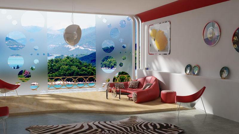 Modern theme living room via houzz by modelight