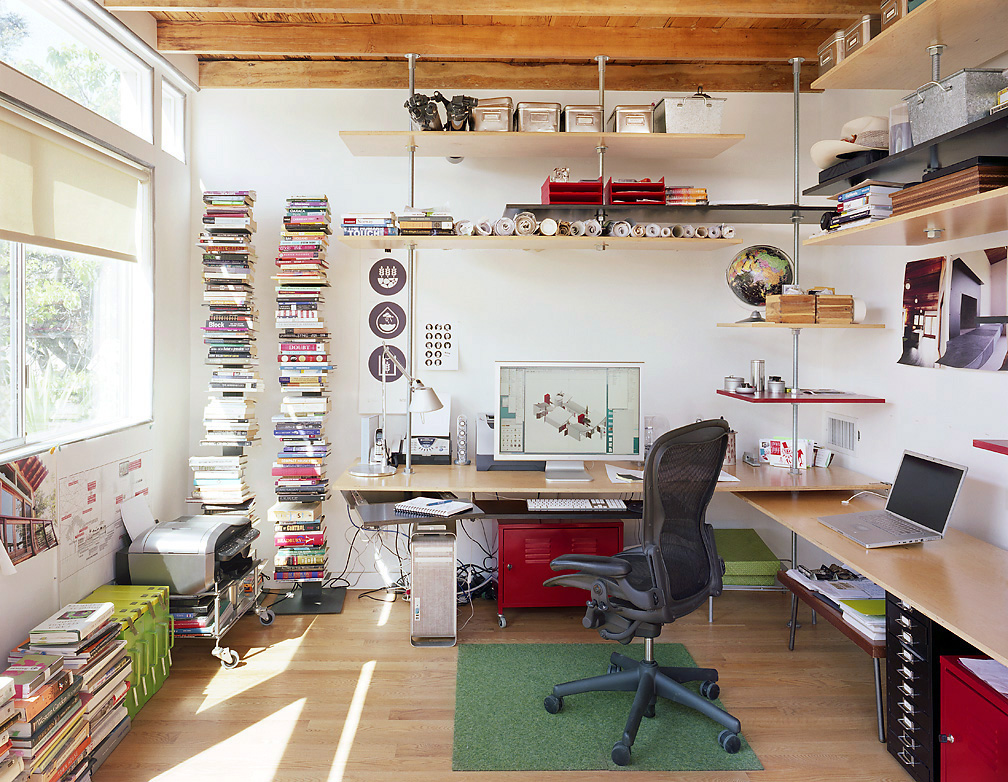 Workspace design inspiration - Creating a small home office ...