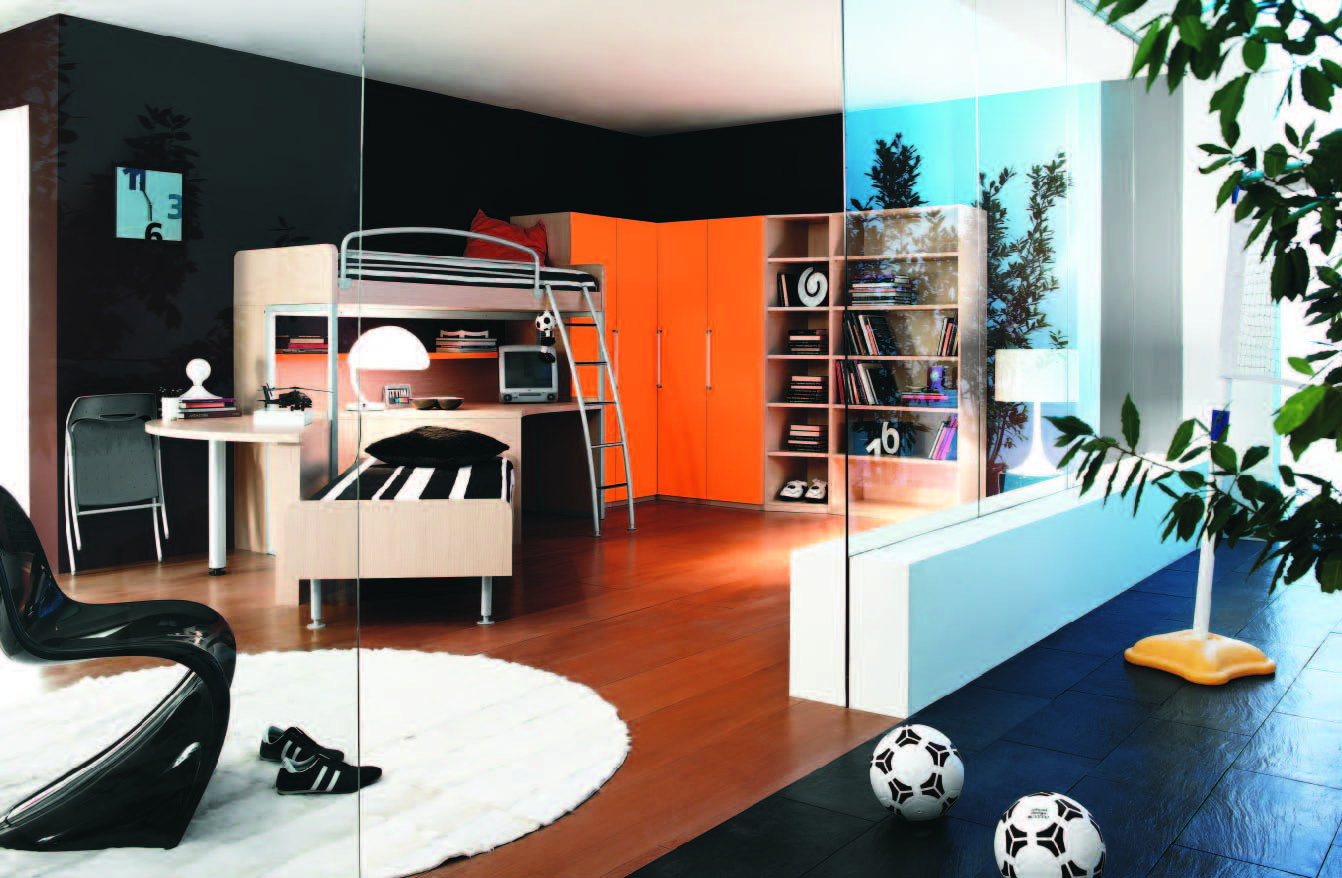Teenage Rooms: Fabulous Modern Themed Rooms For Boys And Girls