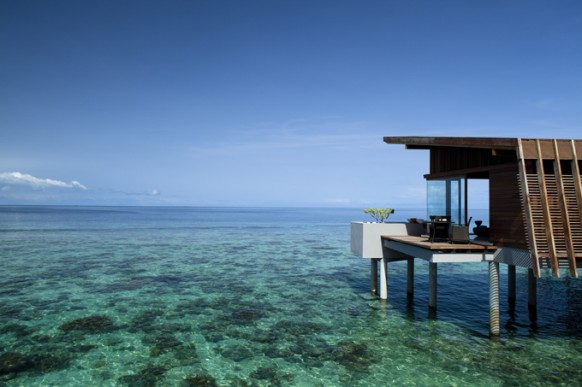 Strand-Haus, Meer
