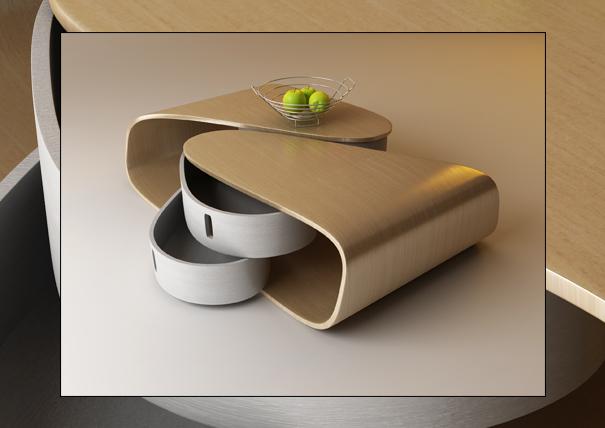10 Strange Table Designs