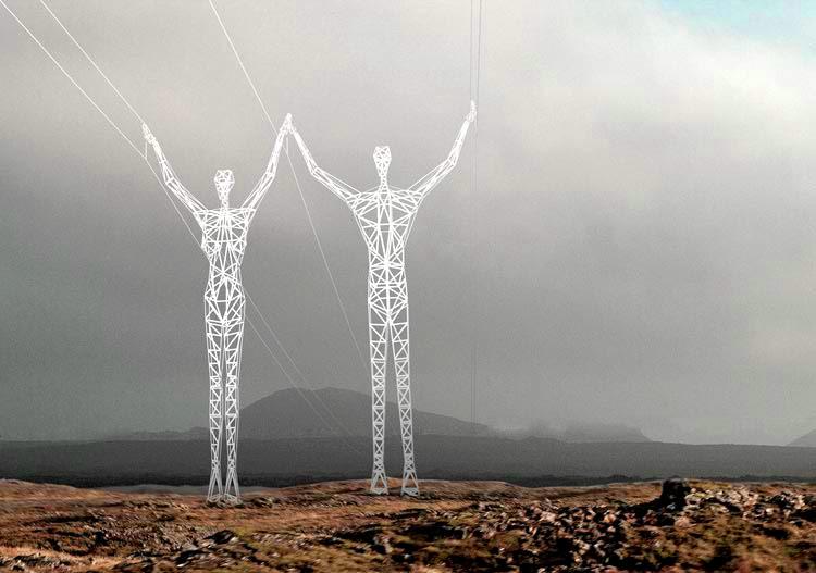 Electricity line design