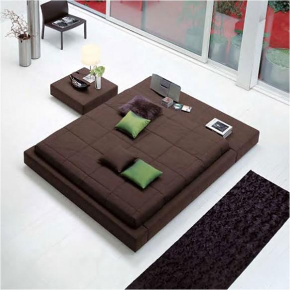 modernen-Bett-Möbel