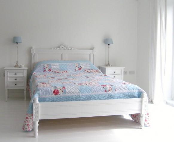 weiß-Schlafzimmer-design