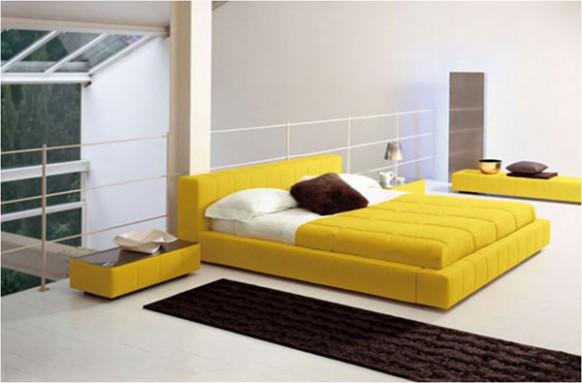 gelb-Bett