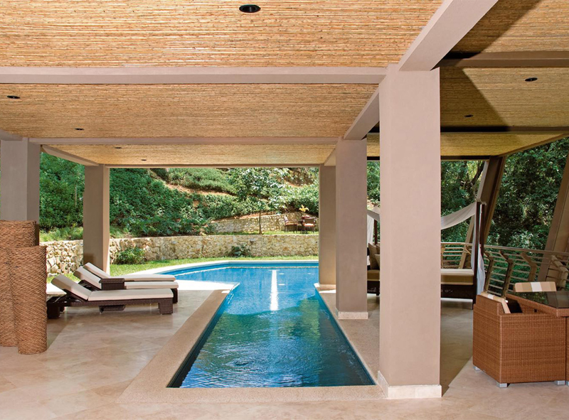 A massive vacation home in the jungles of costa rica - Holiday homes with indoor swimming pool ...