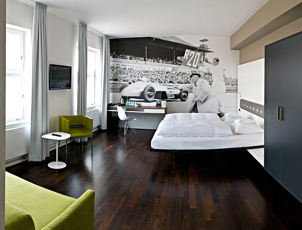 50 Awesome Bedroom Ideas: Amazing Car Themed Rooms Of V8 Hotel, Germany