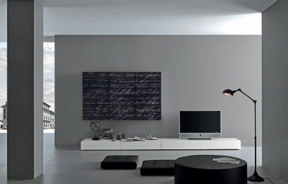 art-deco-Wohnzimmer