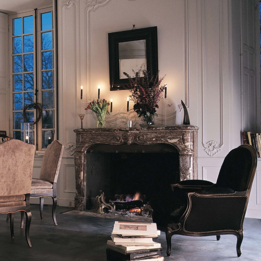 Living Room Decorating Ideas With Fireplace: Fireplace Mantels And Surrounds