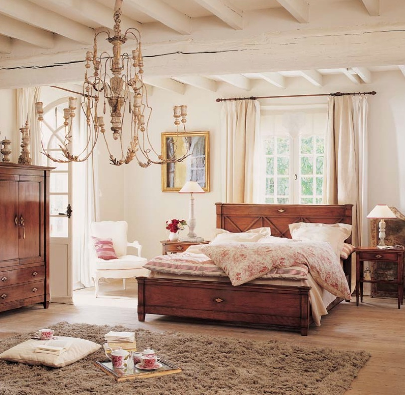 Shabby Chic Bedrooms: Modern Classic And Rustic Bedrooms