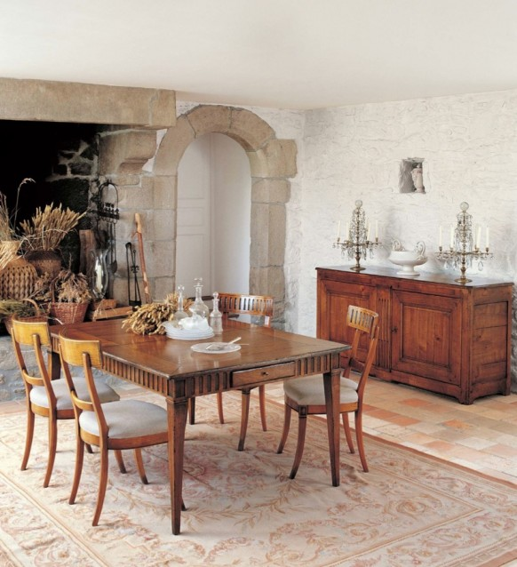 Cozy Dining Rooms: Rustic Dining Room Furniture