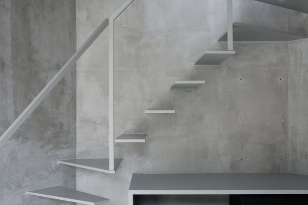 Thin-Tokyo-apartment-interior-architectural-stairs Paint House Stairs Design on paint house design, paint bedroom design, paint store design, paint wall design, paint door design, paint chair design, paint square design, paint stair treads, paint interior design, paint concrete, paint room design, paint kitchen design, paint window design,