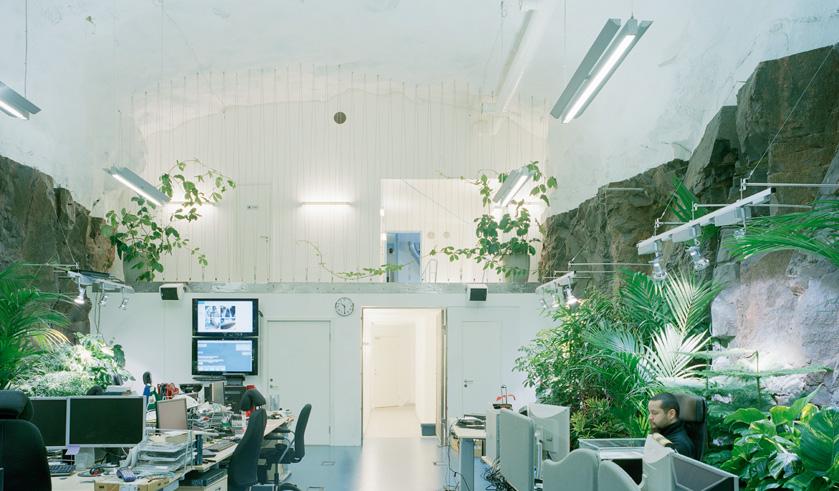 Strange office