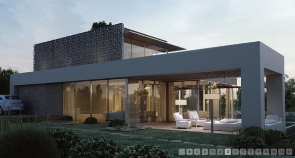 3d-Architektur-Visualisierung