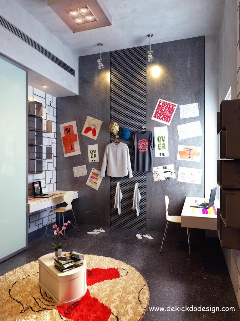 Rooms For Young Creative People