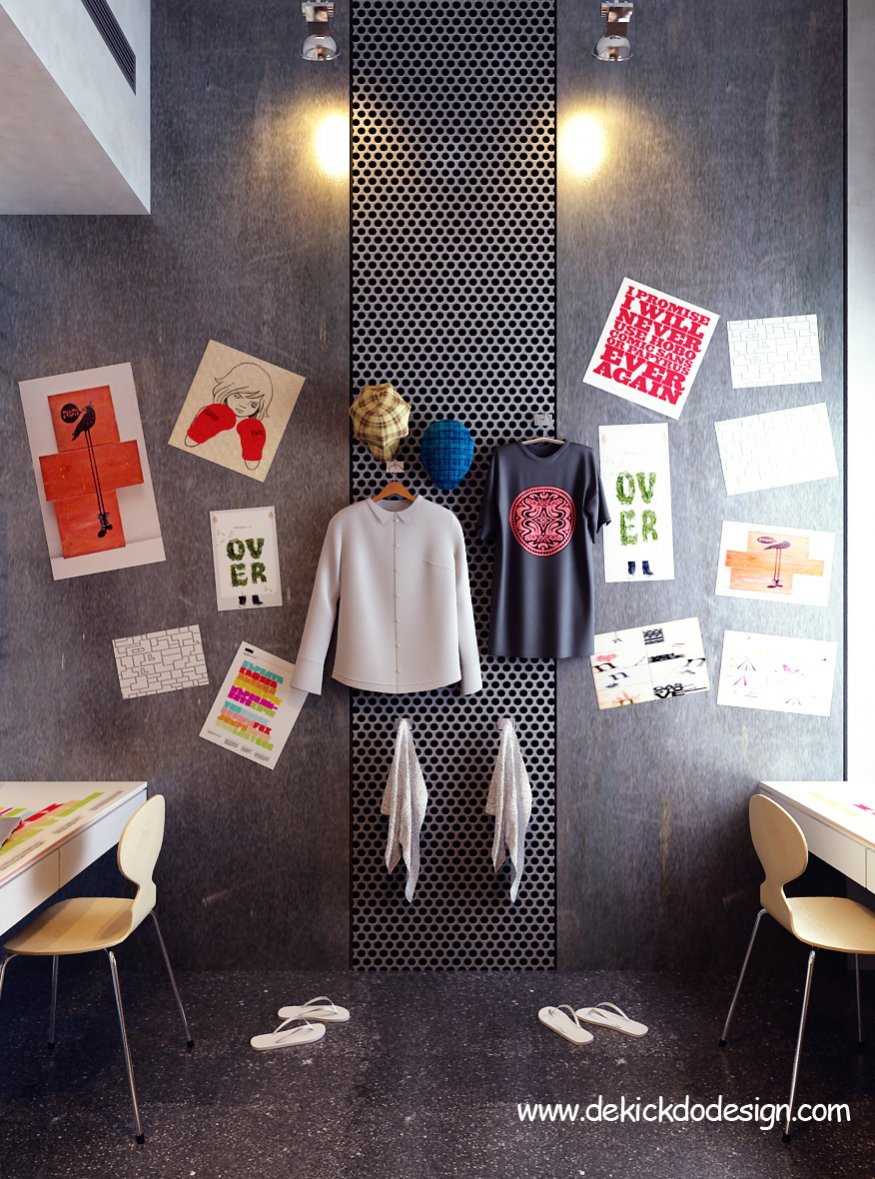 Creative Room Designs: Rooms For Young Creative People