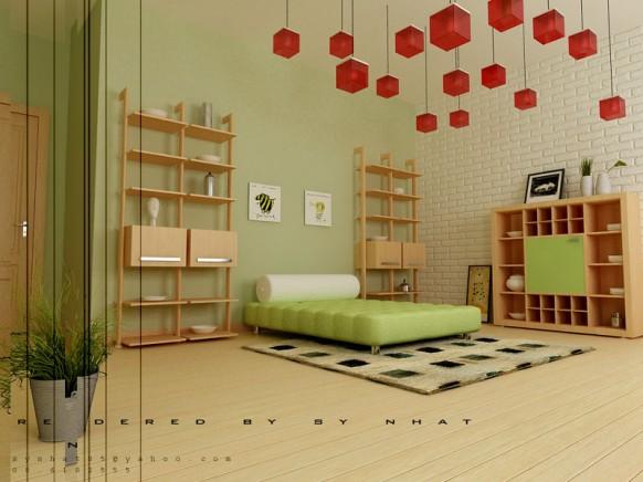 kreativ-Jugend-Zimmer