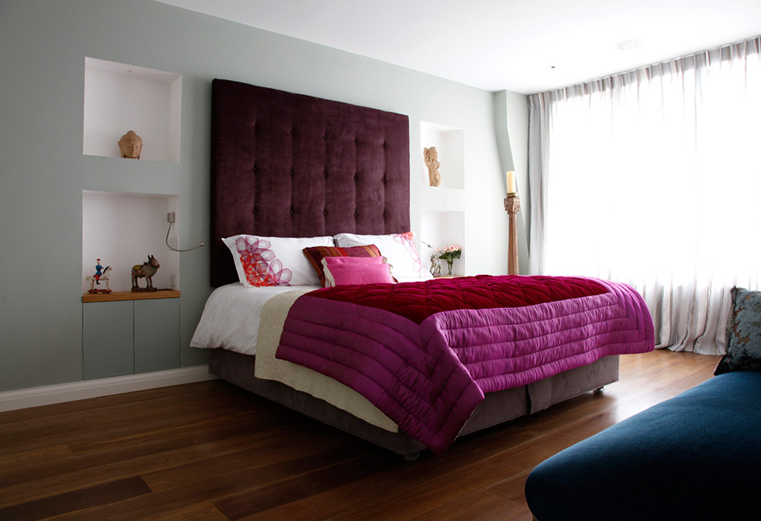 contemporary bedroom accessories a modern eclectic house tour 11188