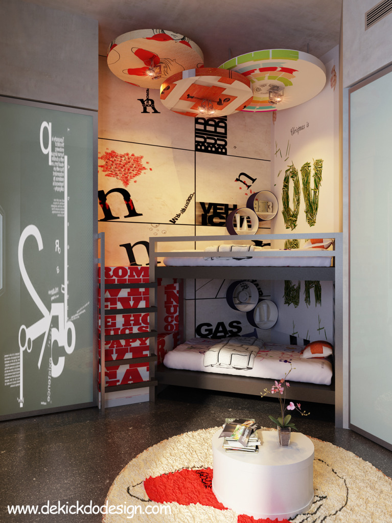Creative Teen Bedroom Design: Rooms For Young Creative People