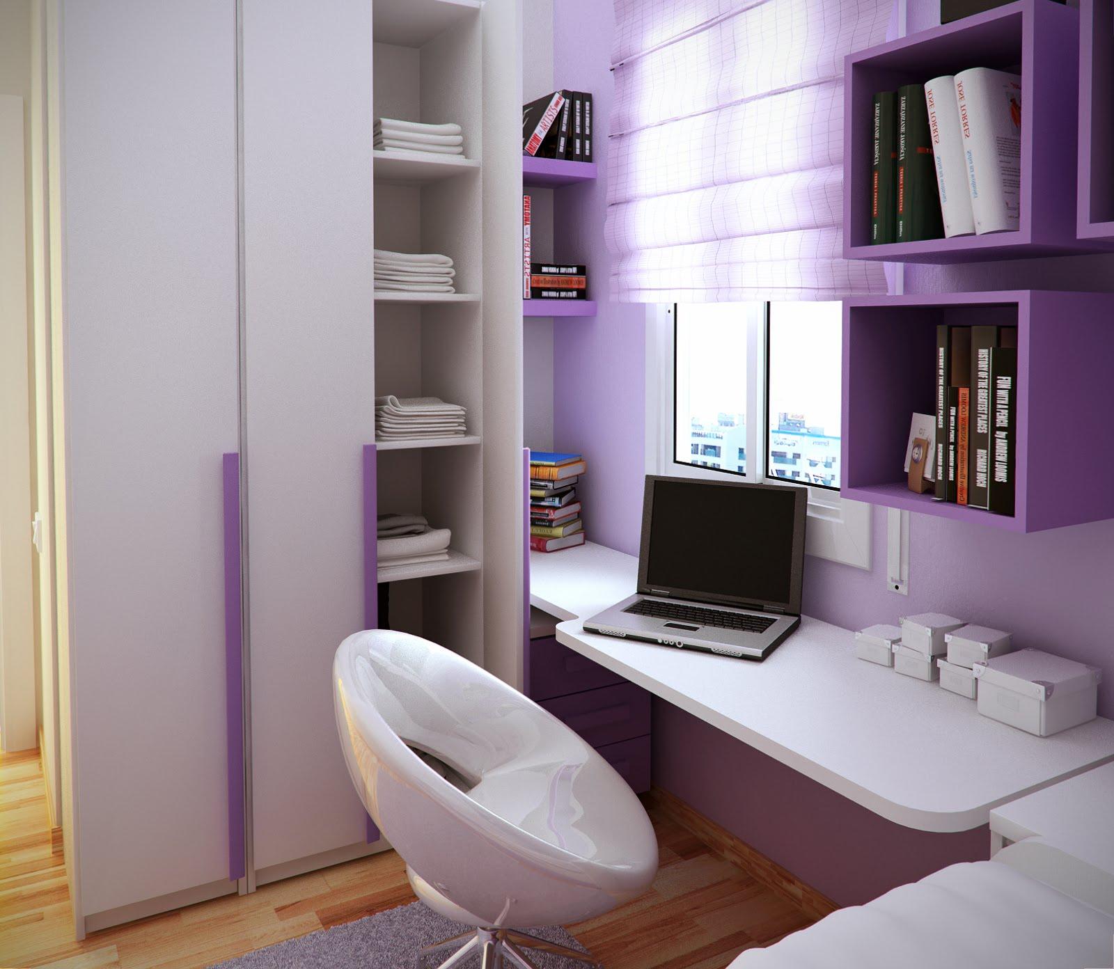 Tiny kids room design