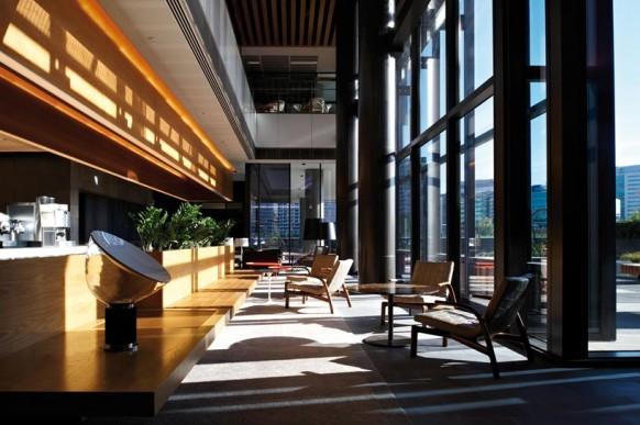 ANZ business Center client Tagungsbereich mit moderner Büro -