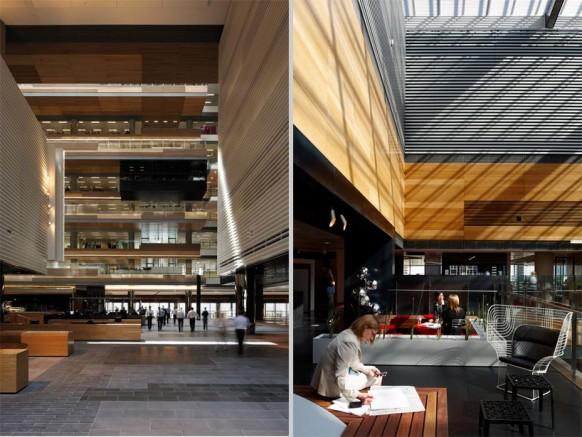 ANZ business Center common atrium-link moderne Büro