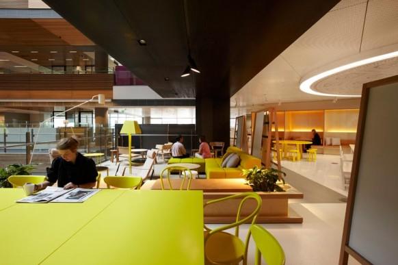 ANZ Businesscenter bunte, kreative, moderne Büroflächen