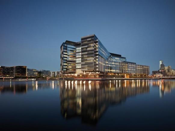 ANZ business-Center Außenansicht Yarra River design award
