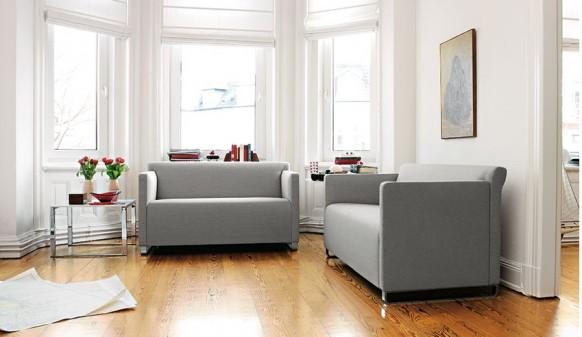 Grau sofa