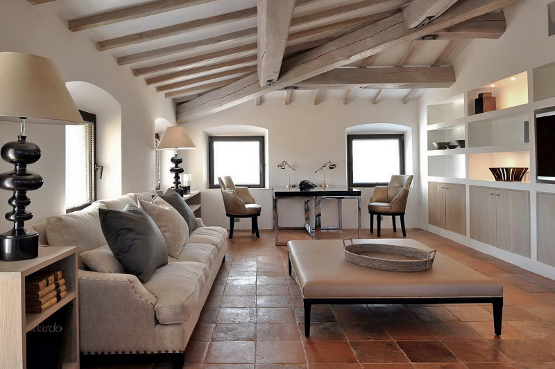 italian living room design luxury italian villa for rental 16029
