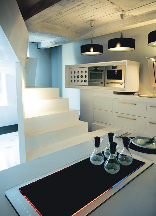 sauve Küche schwarz Brenner
