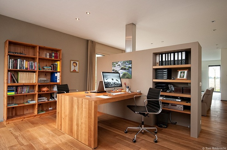 spacious room home offices designs ideas | Cool Workspaces