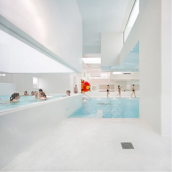 spa Wasser-Funktion Les Bains Des Docks Aquatic Center