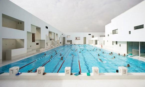 Bahnen Les Bains Des Docks Aquatic Center