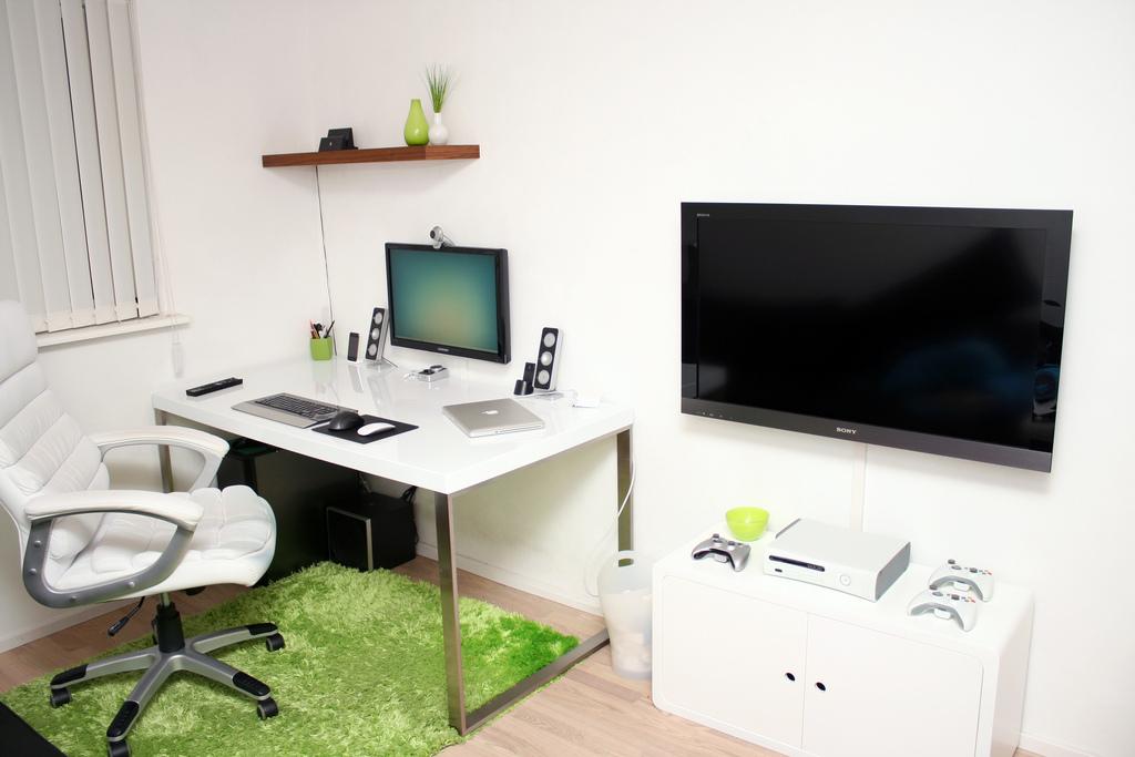 white workstation interior design ideas rh home designing com