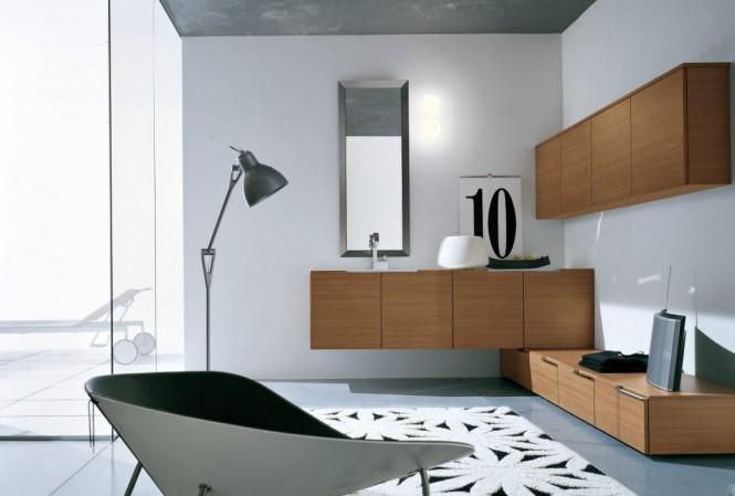 Badezimmer-Möbel-designs