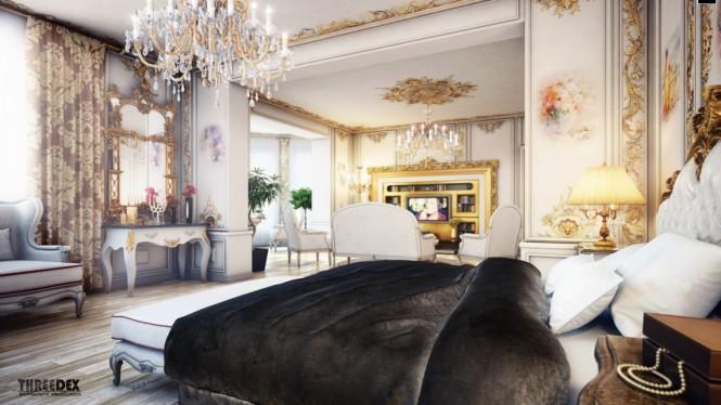 regency-Stil-Schlafzimmer