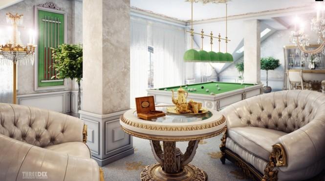 viktorianischen sofa